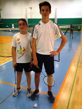 Badminton posamično občinsko in področno 2014