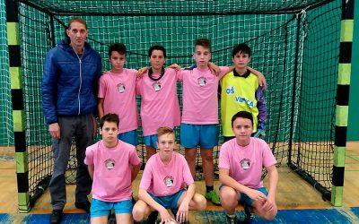 Mlajši dečki občinski prvaki v nogometu