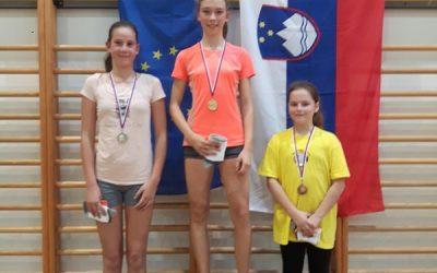 Ana Kolbezen bronasta na področnem prvenstvu v badmintonu