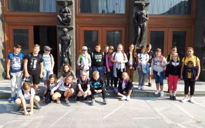 Četrtošolci in petošolci na kulturnem dnevu v Ljubljani