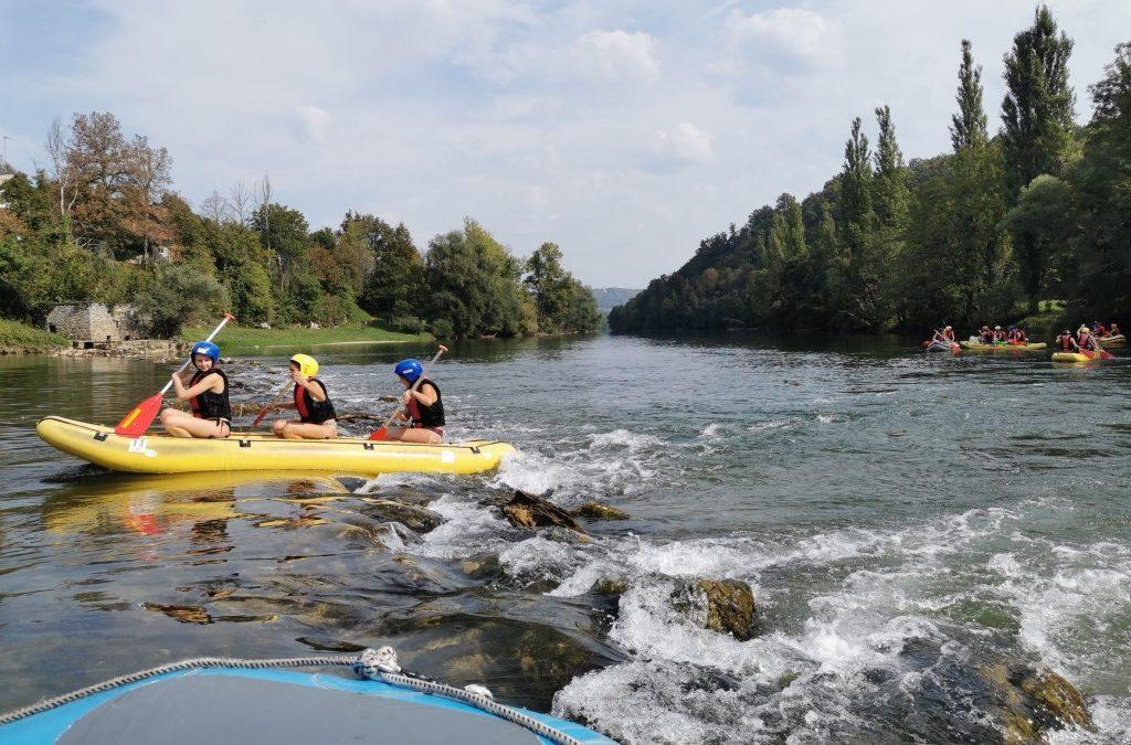 Športni dan – Rafting 2020