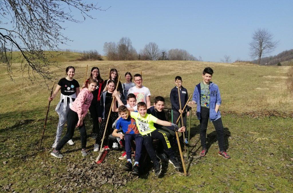 Tradicionalna dneva dejavnosti – čistilna akcija in gozdna učna pot